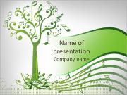 Musical tree PowerPoint Templates