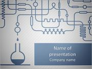 A set of chemical equipment PowerPoint Templates