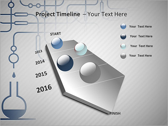 Un ensemble d'équipements chimiques Modèles des présentations  PowerPoint - Diapositives 6