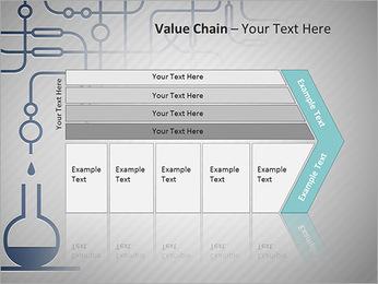 Un ensemble d'équipements chimiques Modèles des présentations  PowerPoint - Diapositives 7