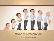 Generations men PowerPoint Templates