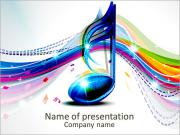 Music note PowerPoint Templates