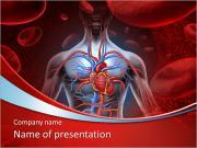 内臓 PowerPointプレゼンテーションのテンプレート