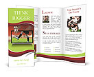 Football player Brochure Templates