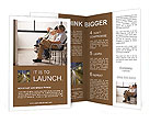 Elderly people are waiting Brochure Templates