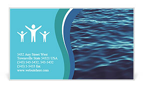 Summer sea Business Card Templates