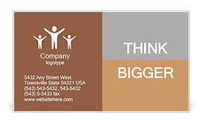 Compose dreams think Business Card Templates