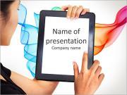 Modern business woman PowerPoint Templates