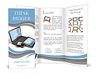 Means of communication Brochure Templates