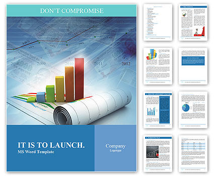 Growth concept business brochure background with diagram word growth concept business brochure background with diagram word template wajeb Image collections