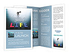 Change your life concept Brochure Templates