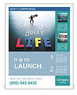 Change your life concept Poster Template