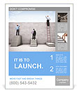 Career ladder Poster Template