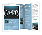 Break the limits concept Brochure Templates