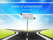 Road solution PowerPoint Templates
