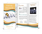 Golden egg Brochure Templates