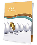 Golden egg Presentation Folder