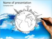 Monuments on earth PowerPoint Templates