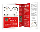 Exclamation and question mark Brochure Templates
