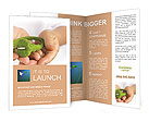 Green Electricity in the hands of Brochure Templates