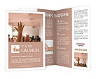 The fingers Brochure Template