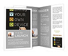 Hand writing Bring Your Own Device Brochure Templates