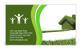 Green house Business Card Templates