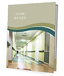 Corridor in hospital Presentation Folder