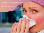 Running nose PowerPoint Templates