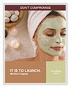 Facials, spa treatments Word Templates
