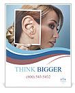Ear women Poster Template