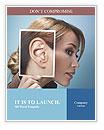Ear women Word Templates