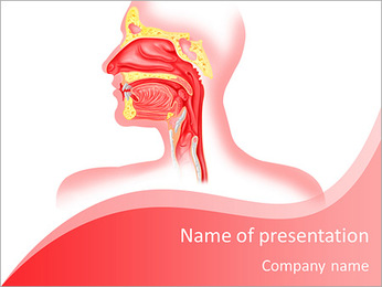 Mucous human system PowerPoint Template