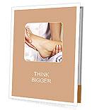 Foot Massage female Presentation Folder
