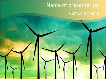 Energy Saving PowerPoint Template