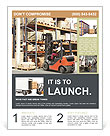 Forklifts in stock Flyer Template