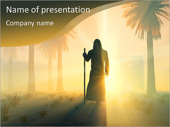 Wanderer PowerPoint Template