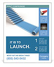 Blue Carpet Poster Template