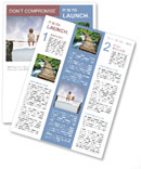 In the world of illusions Newsletter Template