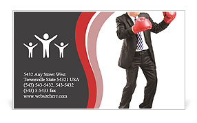 In the ring of business Business Card Template