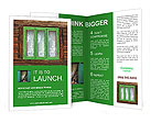 Green Window Brochure Templates