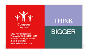 Help button Business Card Templates