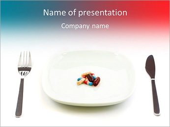 Unhealthy food PowerPoint Template