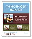 Farm Equipment Poster Templates