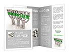Customer servis Brochure Templates