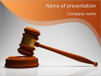 Gavel PowerPoint Template