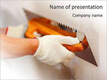 Plasterer PowerPoint Template