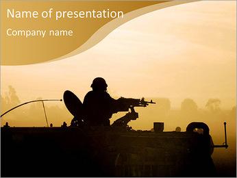Shadow of war PowerPoint Template