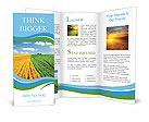 Sown field Brochure Templates
