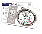 Compass success Postcard Template